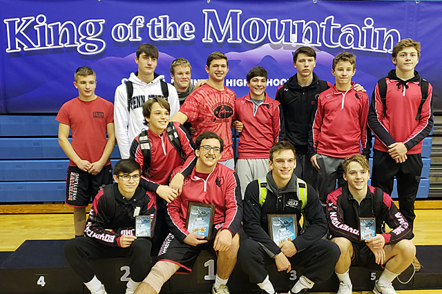 Bears place 17th at 2018 King of the Mountain, with 4 medals